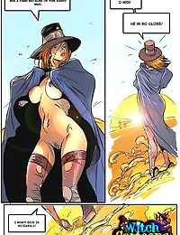 Naked witch wandering through desert - part 3695