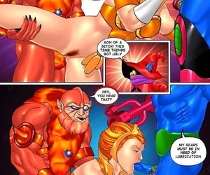 Strong dude fucks two hot ladies in porn comics - part 3548