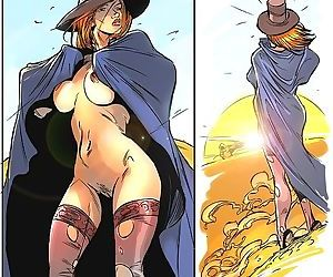 Naked witch wandering through desert - part 2328