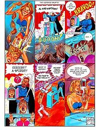 Hardcore comic fucking for blonde chick - part 784