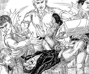 Street guys wildly ravish the comics ass - part 1447