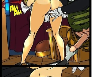 Stacked witch giving sloppy blowjob - part 2367
