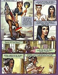 Strong dude fucks two hot ladies in porn comics - part 1755