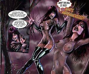 Nude comics with beautiful lesbian dolls - part 2098