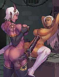 Rare dickgirl manga comicks - part 2528