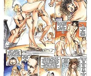 Girls sharing cock in the hottest sex comics - part 84