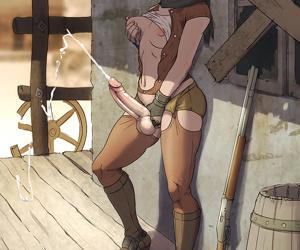 Hentai dickgirl screwed in the bathroom - part 1620