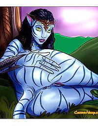 Avatar aliens show us how they enjoy sex - part 2247