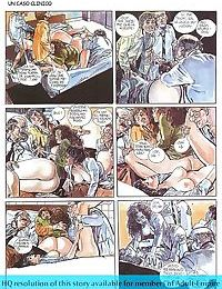 Girls sharing cock in the hottest sex comics - part 1068