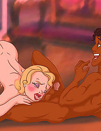 Flora winx gets herself full of cum playing with a big cock - part 2150