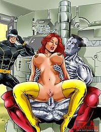 Batgirl fucks with good and evil guys - part 1991