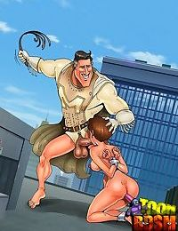 Unlucky toon dom gets trampled by slavegirl - part 2429