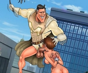 Unlucky toon dom gets trampled by slavegirl - part 1955