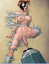 Gorgeous mistress and helpless fem slaves - part 2717