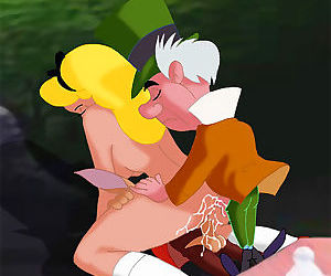 Alice and pocahontas getting hot and heavy - part 3212