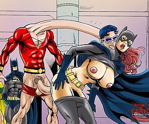 Batgirl fucks with good and evil guys - part 689