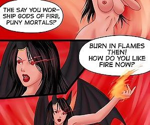 Slutty witch gets an assful - part 2776