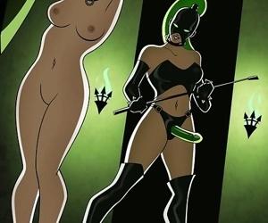 Gorgeous mistress and helpless fem slaves - part 207