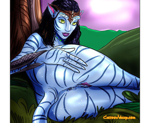 Avatar aliens show us how they enjoy sex - part 804