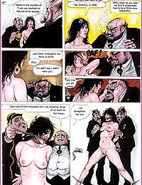 Lusty couple entertains with bound girl - part 2543
