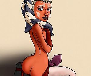 Hot babe from star wars: the clone wars - part 501