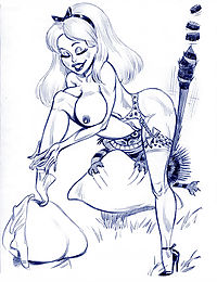 Alice porn cartoons - part 1348