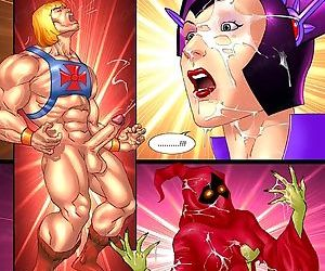 Strong dude fucks two hot ladies in porn comics - part 1578