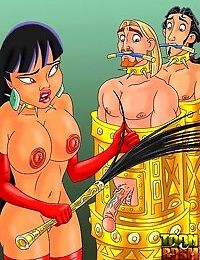 Hot bdsm cartoon characteres everywhere - part 41