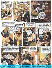 Girls sharing cock in the hottest sex comics - part 3013