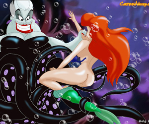 Young and beautiful ariel has fallen into the clutches of the evil ursula - part 2679