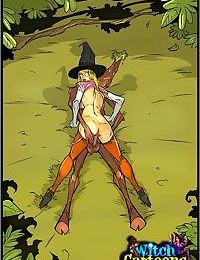 Witch finds fuckmates for herself - part 1398