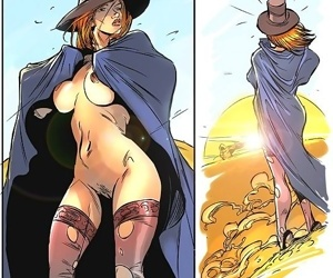 Naked witch wandering through desert - part 1515