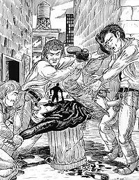 Street guys wildly ravish the comics ass - part 3165