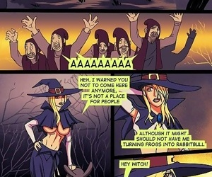 Slutty witch gets an assful - part 3322