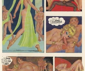 Raunchy porn comix with group fuck - part 2337