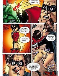 Super heroes fucking hot chicks - part 21