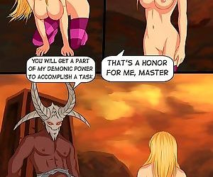 Witch punishes a sexy stacked princess - part 3640