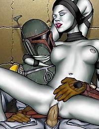 Star wars porn cartoons - part 333
