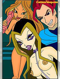 The winx girls have decided to throw a one of a kind party with sexiest disguise - part 2783