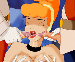 Ariel and jasmine fight naked and dirty - part 3330