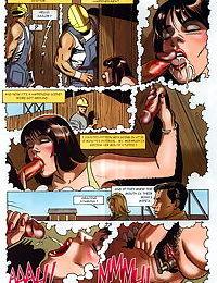 Sexy comic masturbation and fucking - part 327