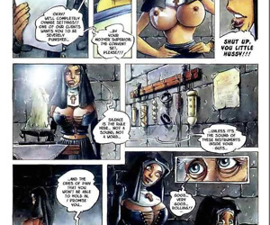 Chicks fucking blowjob and cumshot in amazing hardcore comic series - part 553