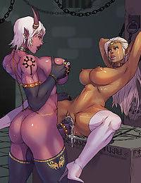 Rare dickgirl manga comicks - part 931