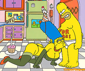 Its marges birthday and homer has a very special gift for her he makes his very - part 1509