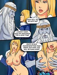 The king of frost fucks hot witch - part 1741