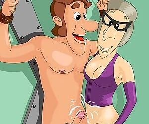 Jimmy neutrons relatives are real bdsm freaks - part 2061