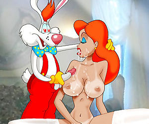 Jessica cant wait to ride the shit out of rodger rabbit - part 3883