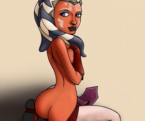 Hot babe from star wars: the clone wars - part 3773