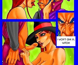 Witch gets creampied with evil seed - part 1217