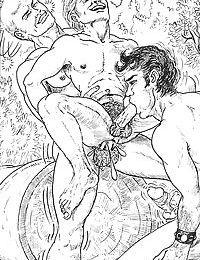 Nude comics with beautiful lesbian dolls - part 402